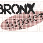 Bronx Hipster Logo Google Glass